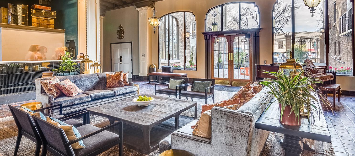 Hotel Petaluma interior designs