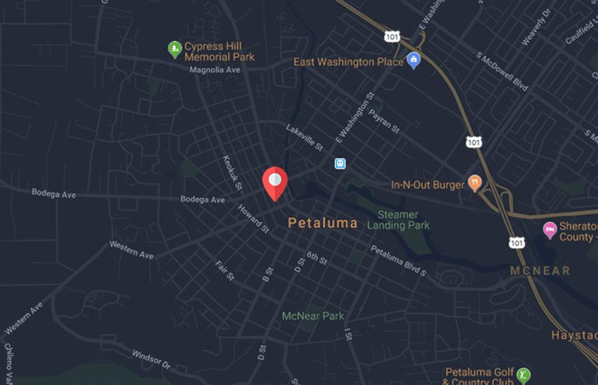 Hotel Petaluma, 205 Kentucky Street, Petaluma, California 94952 USA