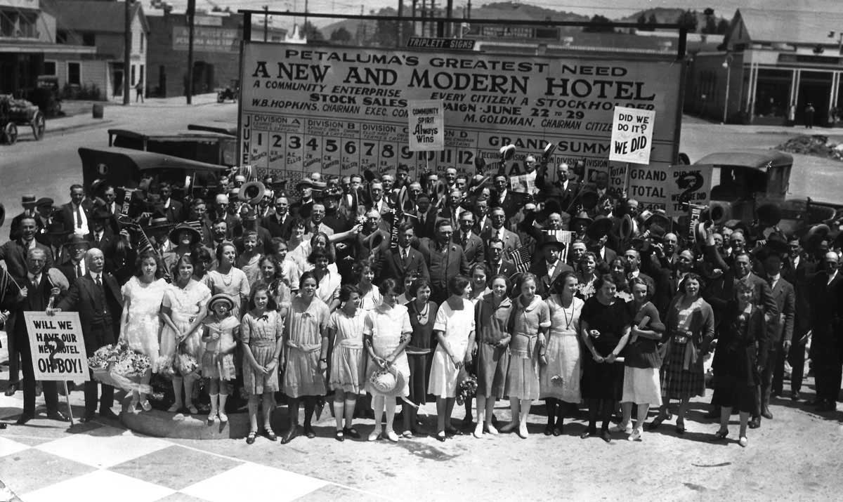 Historic Hotel Petaluma Fundraiser