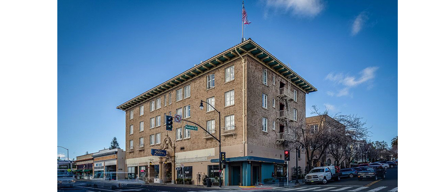 Our Historic Petaluma Hotel