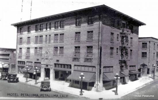 Hotel Petaluma - Hotel Petaluma Historic Building